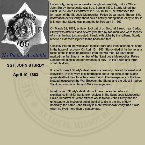 SLMPD Fallen Officer Memorial